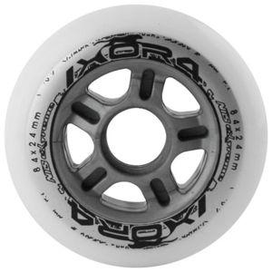 Kolečka NILS Extreme 84 x 24 mm - bílé