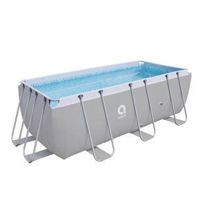 Bazén s pevnou stěnou Passaat Grey 400 x 207 cm